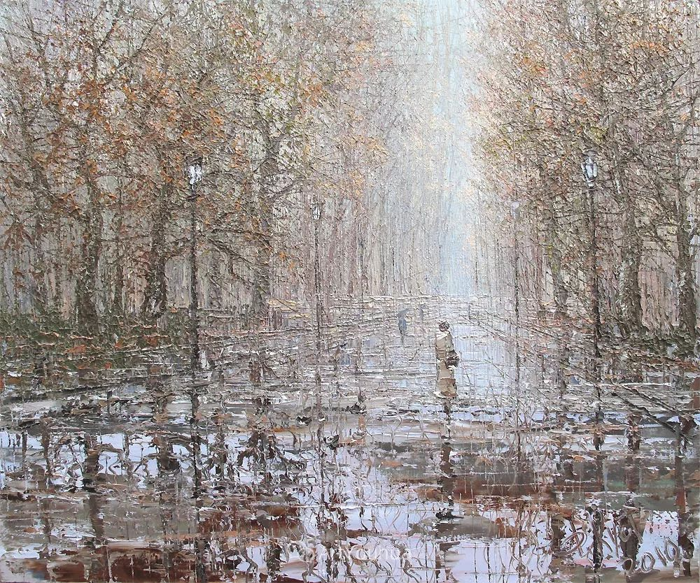 很不同寻常的展现方式,刀画风景!白俄罗斯Dmitry Kustanovich插图33