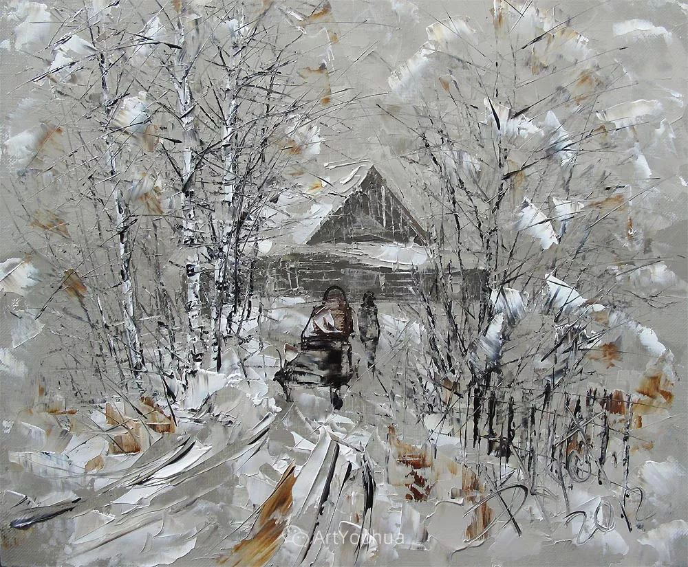 很不同寻常的展现方式,刀画风景!白俄罗斯Dmitry Kustanovich插图35