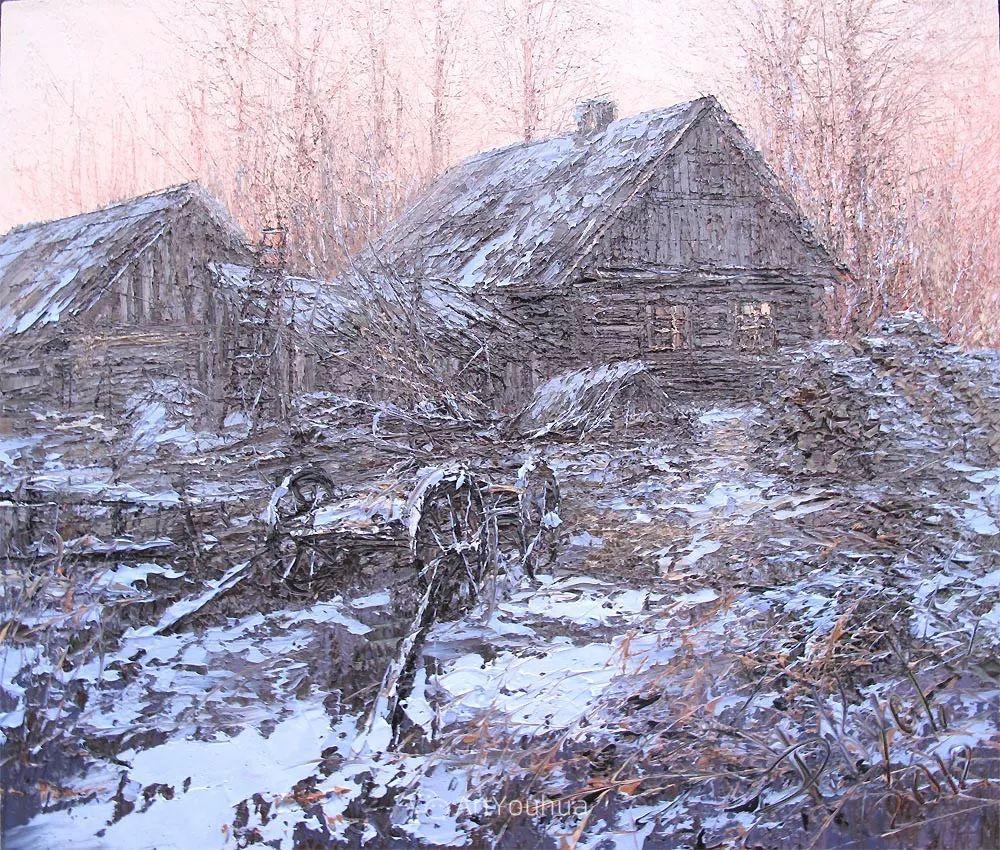 很不同寻常的展现方式,刀画风景!白俄罗斯Dmitry Kustanovich插图47