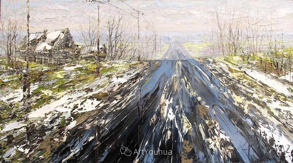 很不同寻常的展现方式,刀画风景!白俄罗斯Dmitry Kustanovich插图51