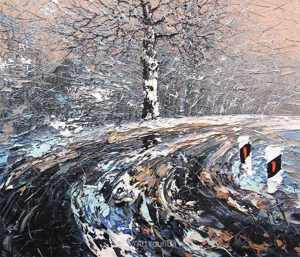很不同寻常的展现方式,刀画风景!白俄罗斯Dmitry Kustanovich插图63