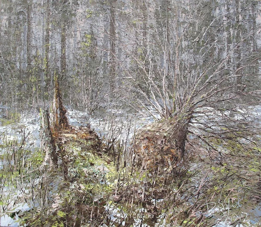 很不同寻常的展现方式,刀画风景!白俄罗斯Dmitry Kustanovich插图69