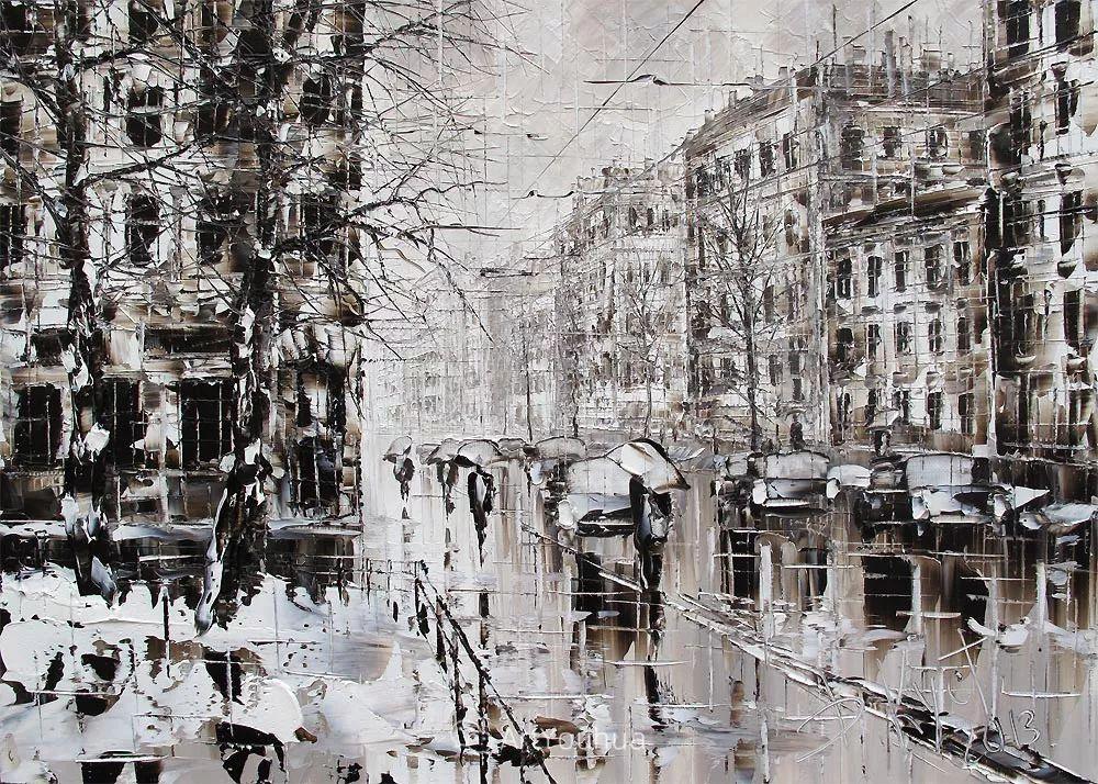 很不同寻常的展现方式,刀画风景!白俄罗斯Dmitry Kustanovich插图85