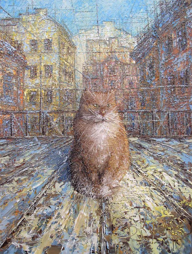 很不同寻常的展现方式,刀画风景!白俄罗斯Dmitry Kustanovich插图89