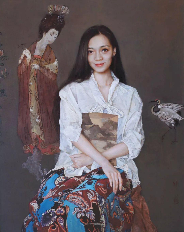 风情演绎唯美东方女性,单纯清澈,不媚不妖!插图2