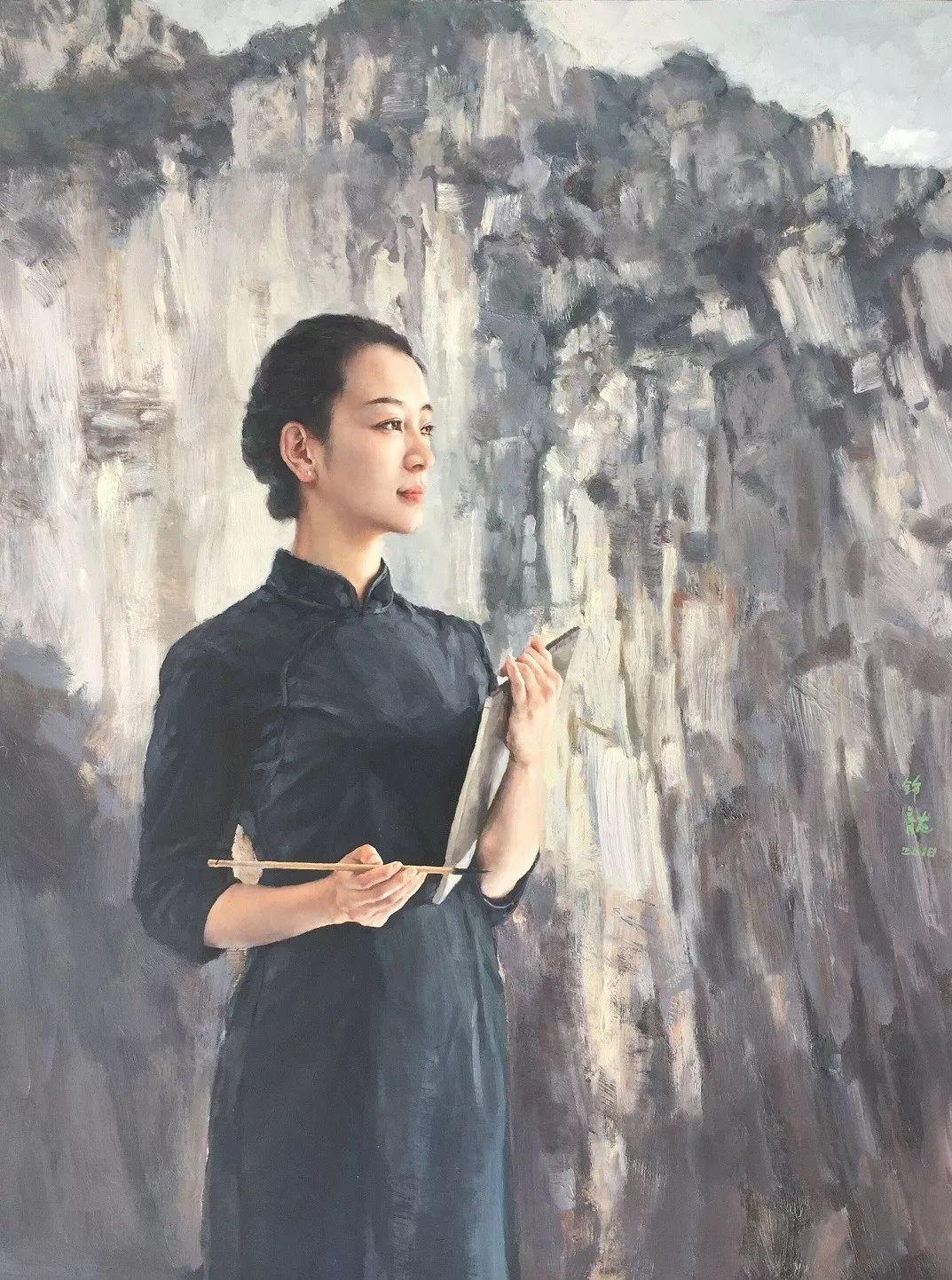 风情演绎唯美东方女性,单纯清澈,不媚不妖!插图4