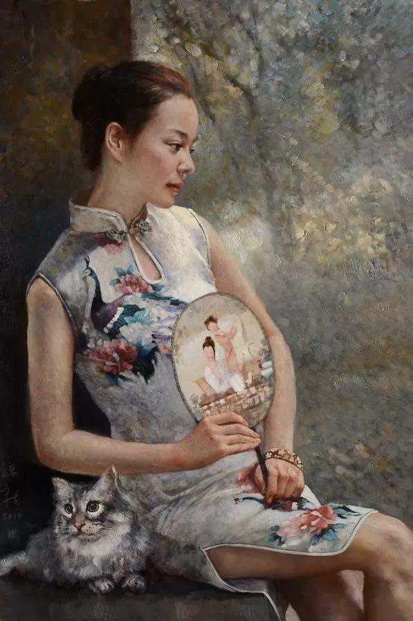 风情演绎唯美东方女性,单纯清澈,不媚不妖!插图8