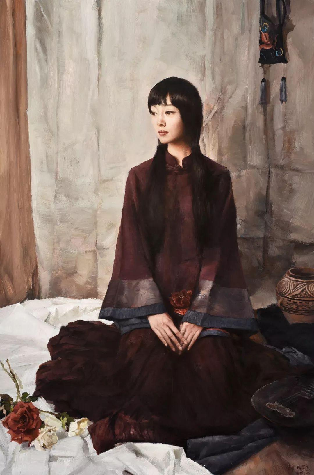 风情演绎唯美东方女性,单纯清澈,不媚不妖!插图14