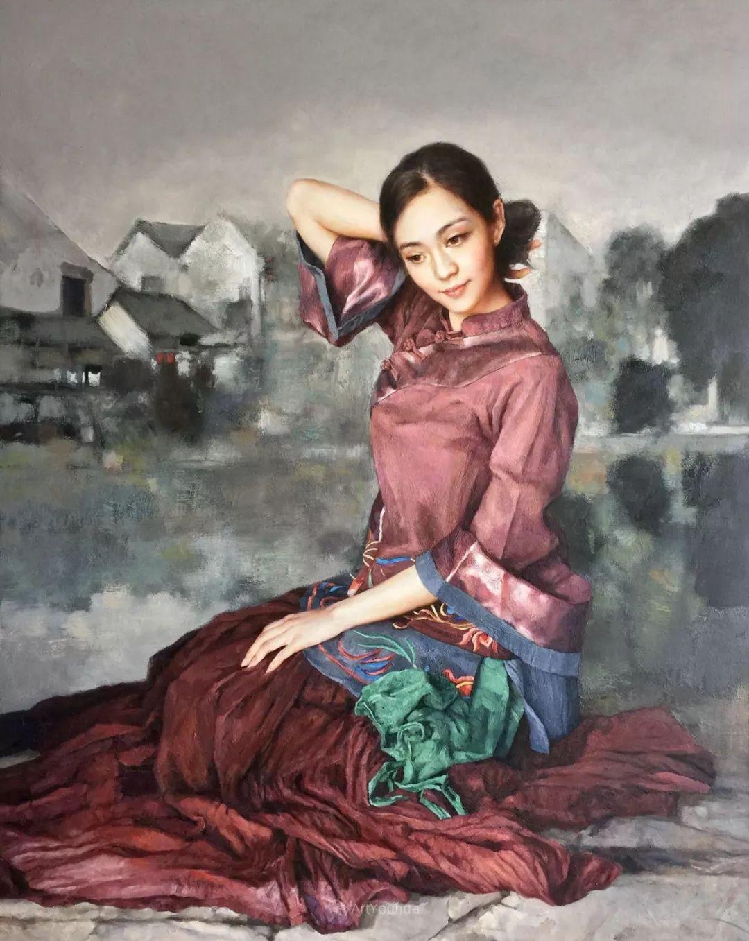 风情演绎唯美东方女性,单纯清澈,不媚不妖!插图25