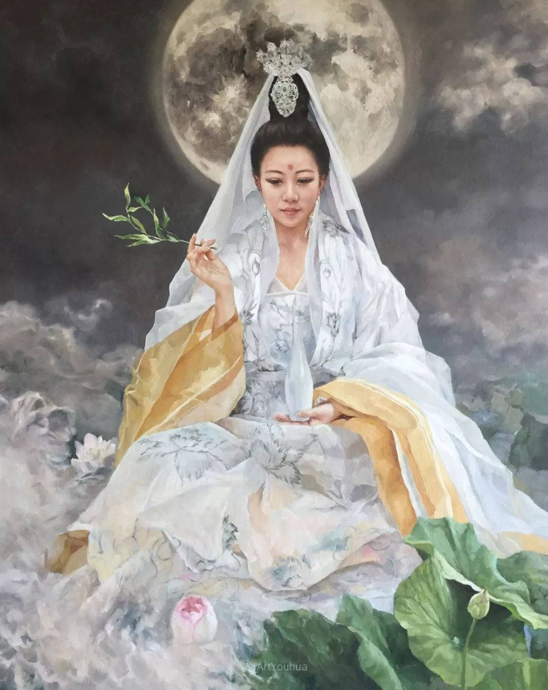 风情演绎唯美东方女性,单纯清澈,不媚不妖!插图27