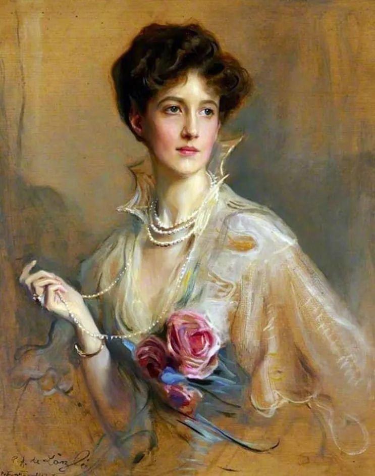 王室女性肖像,气质非凡!旅英匈牙利画家Philip Alexius de Laszlo插图