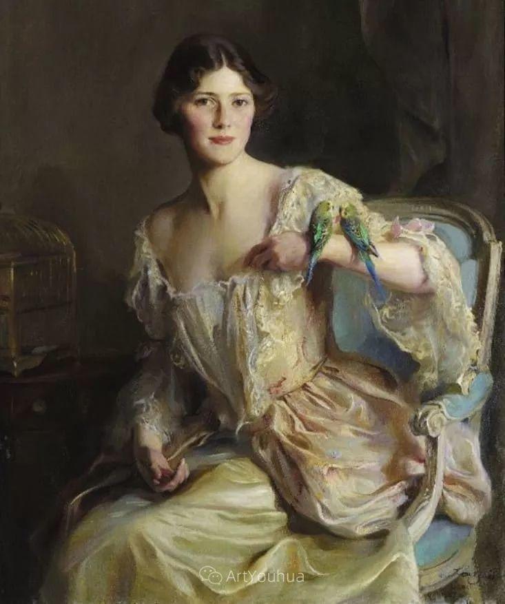 王室女性肖像,气质非凡!旅英匈牙利画家Philip Alexius de Laszlo插图2