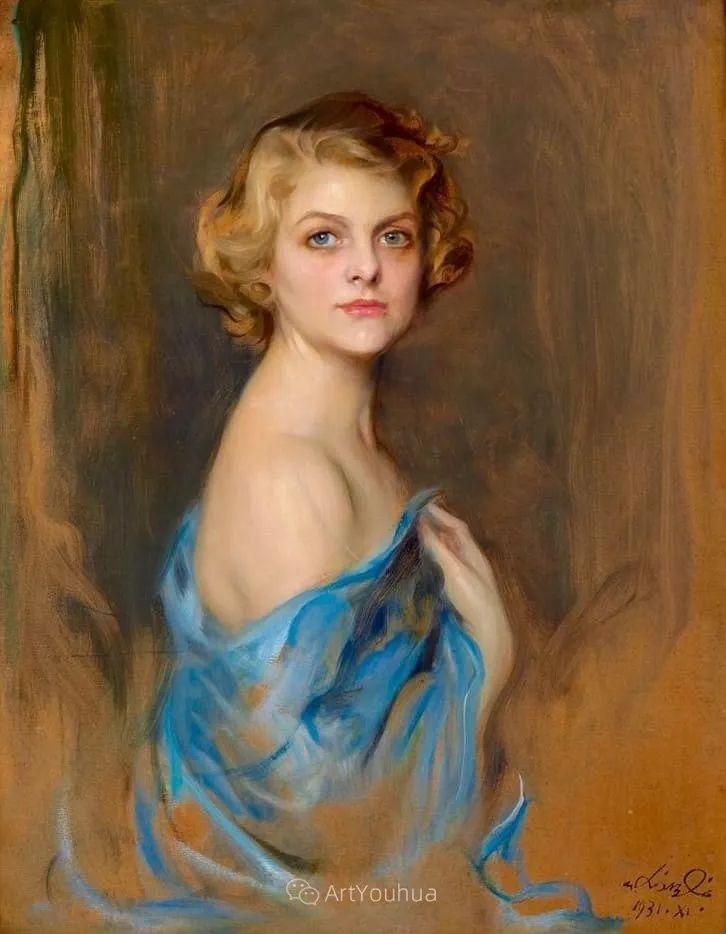 王室女性肖像,气质非凡!旅英匈牙利画家Philip Alexius de Laszlo插图3