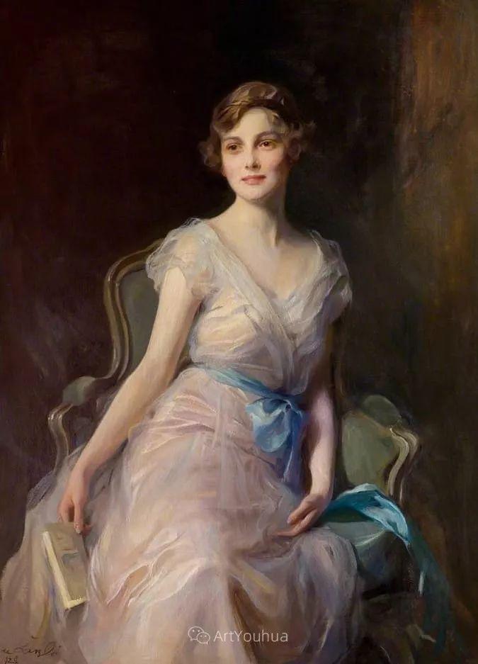 王室女性肖像,气质非凡!旅英匈牙利画家Philip Alexius de Laszlo插图4