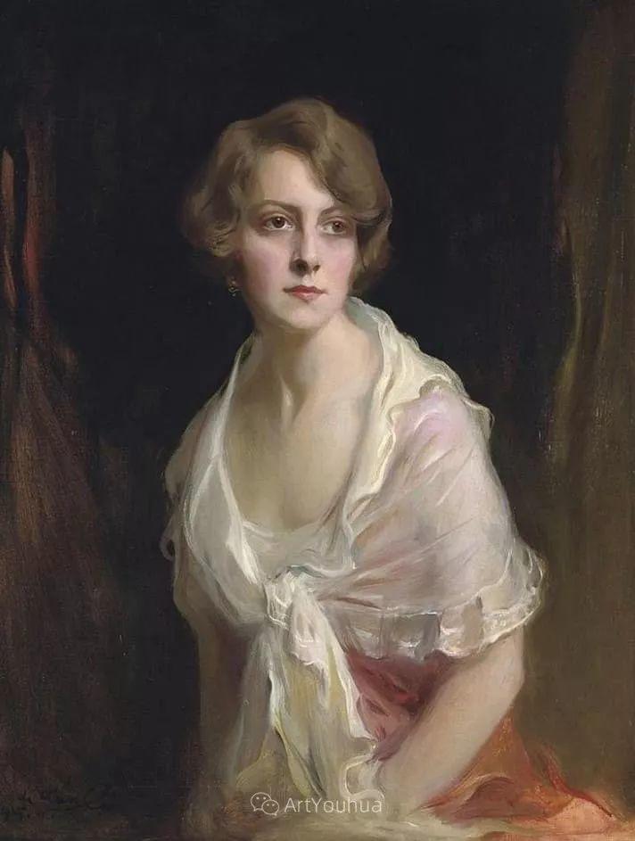 王室女性肖像,气质非凡!旅英匈牙利画家Philip Alexius de Laszlo插图5