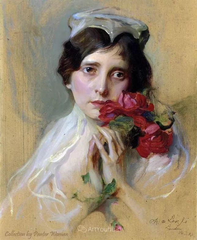 王室女性肖像,气质非凡!旅英匈牙利画家Philip Alexius de Laszlo插图7