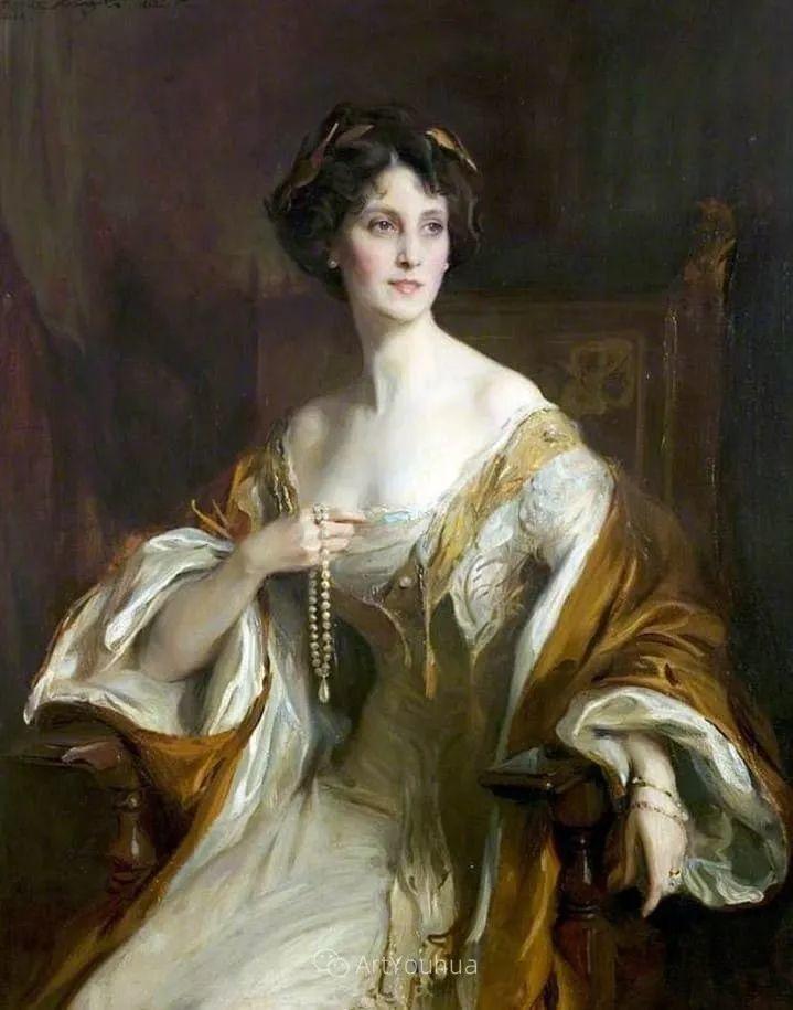王室女性肖像,气质非凡!旅英匈牙利画家Philip Alexius de Laszlo插图8