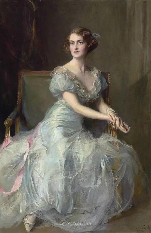 王室女性肖像,气质非凡!旅英匈牙利画家Philip Alexius de Laszlo插图9