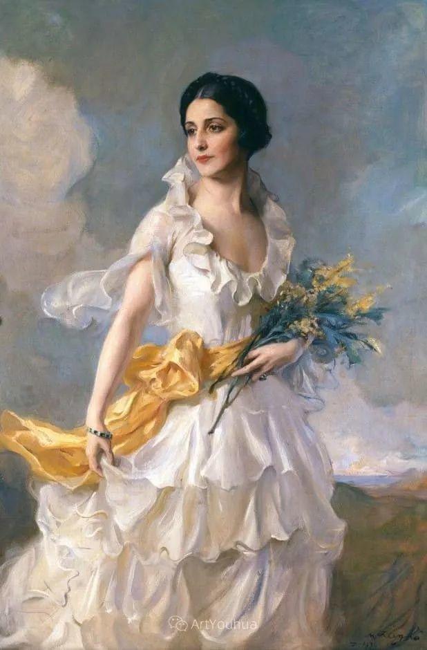 王室女性肖像,气质非凡!旅英匈牙利画家Philip Alexius de Laszlo插图10