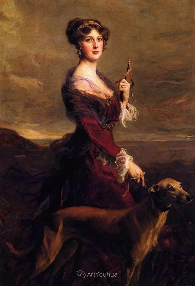 王室女性肖像,气质非凡!旅英匈牙利画家Philip Alexius de Laszlo插图12