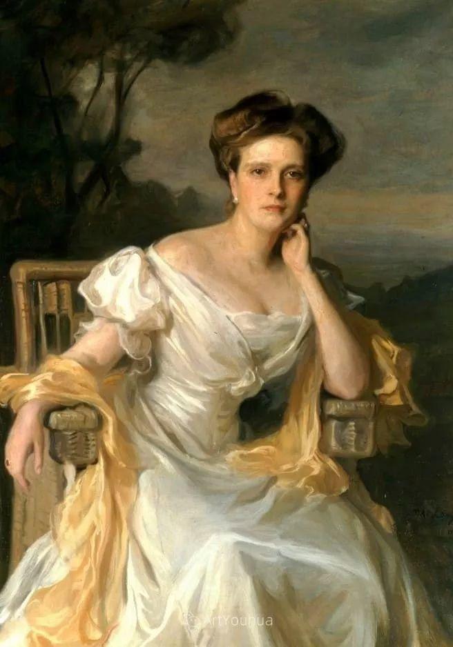 王室女性肖像,气质非凡!旅英匈牙利画家Philip Alexius de Laszlo插图13