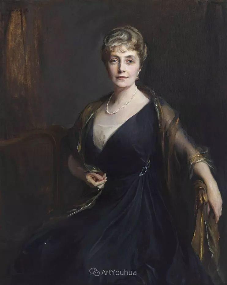 王室女性肖像,气质非凡!旅英匈牙利画家Philip Alexius de Laszlo插图14