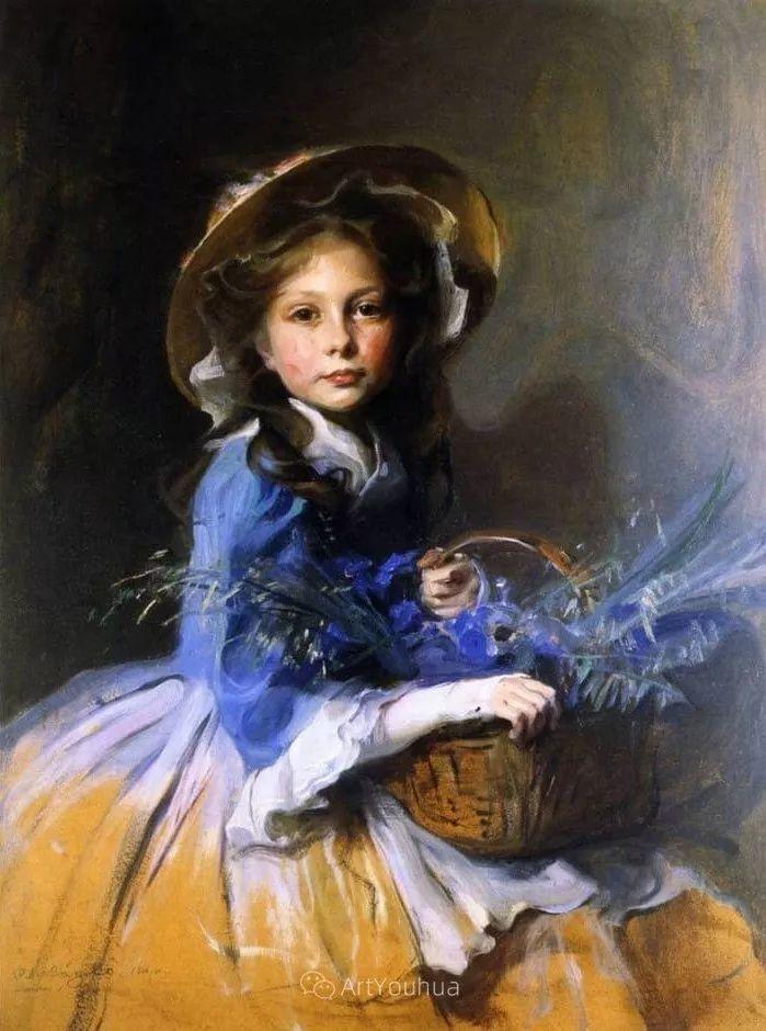 王室女性肖像,气质非凡!旅英匈牙利画家Philip Alexius de Laszlo插图16