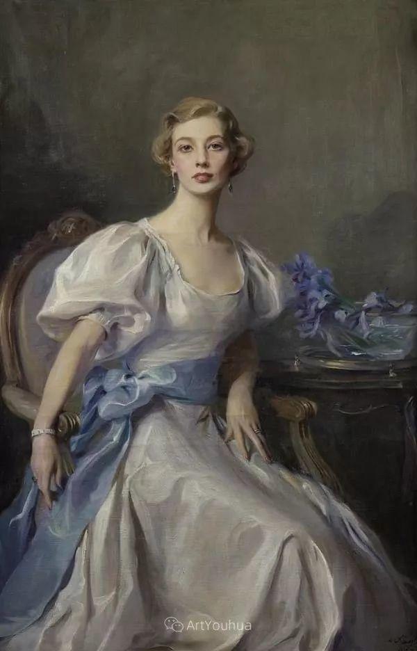王室女性肖像,气质非凡!旅英匈牙利画家Philip Alexius de Laszlo插图17
