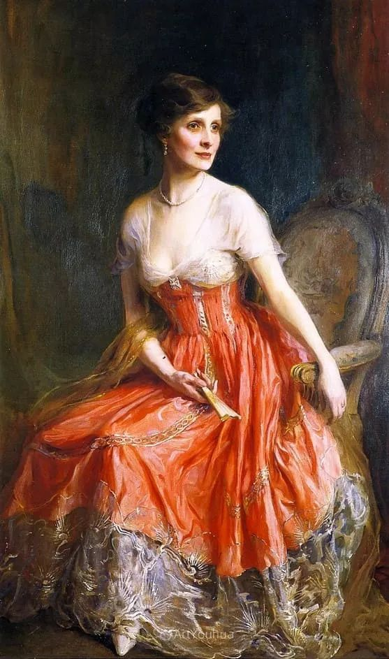 王室女性肖像,气质非凡!旅英匈牙利画家Philip Alexius de Laszlo插图18