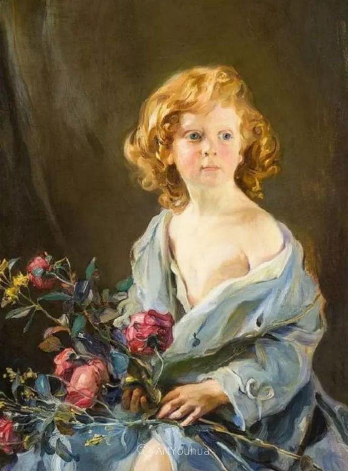 王室女性肖像,气质非凡!旅英匈牙利画家Philip Alexius de Laszlo插图20
