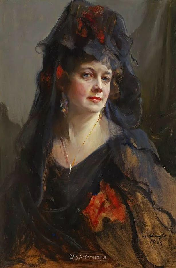 王室女性肖像,气质非凡!旅英匈牙利画家Philip Alexius de Laszlo插图22