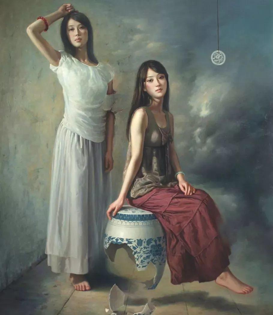 他画出绝美女子,每一幅都柔美个性,优雅自信插图1