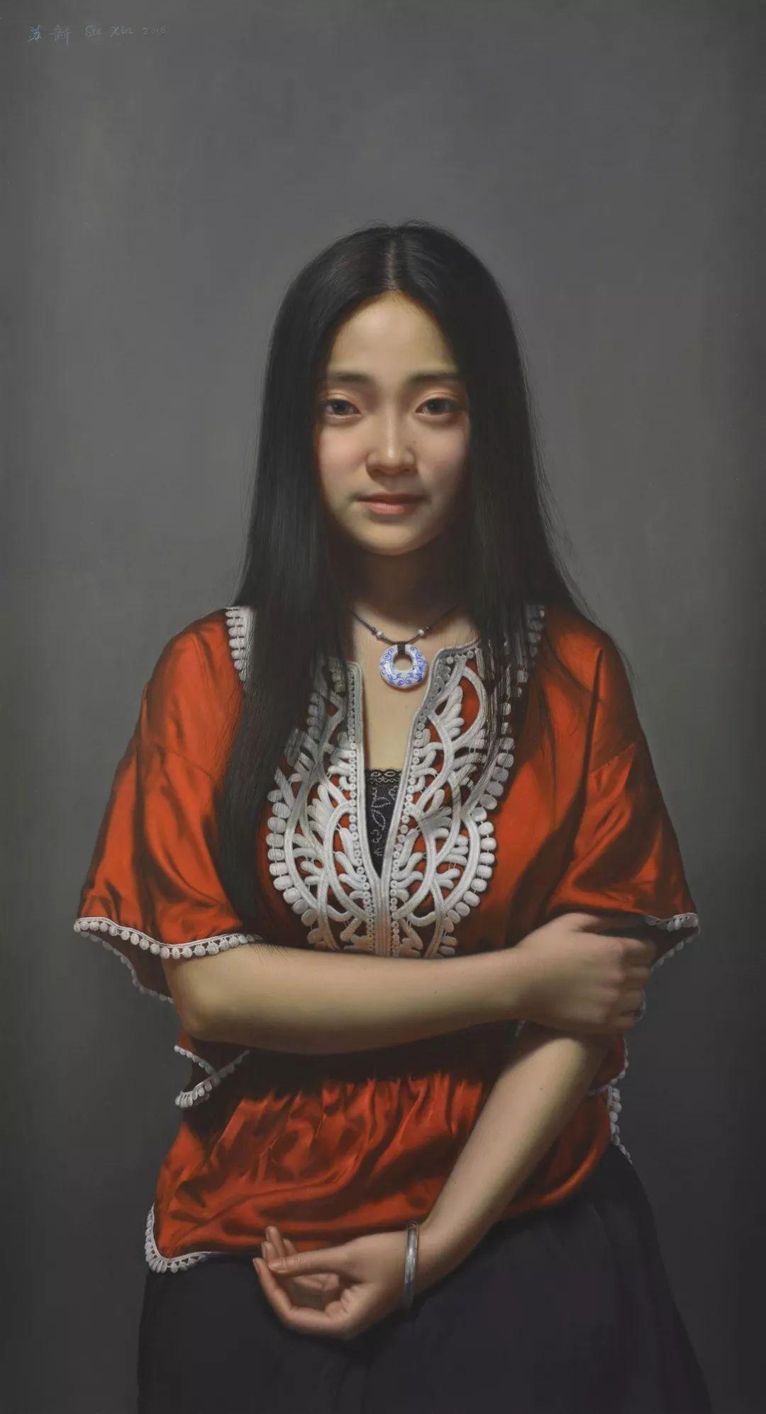 他画出绝美女子,每一幅都柔美个性,优雅自信插图2