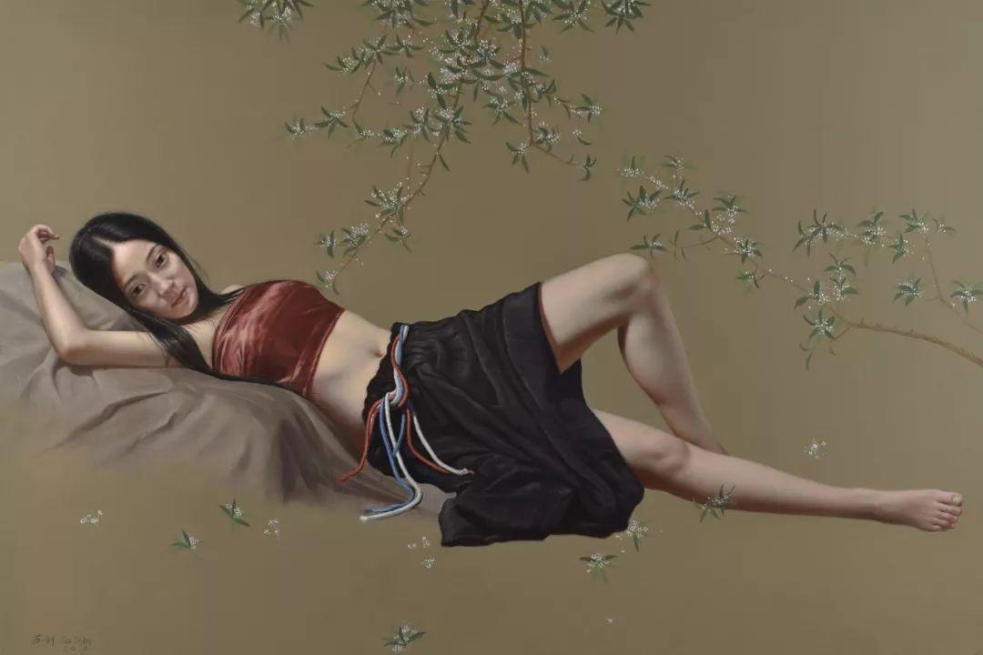 他画出绝美女子,每一幅都柔美个性,优雅自信插图3