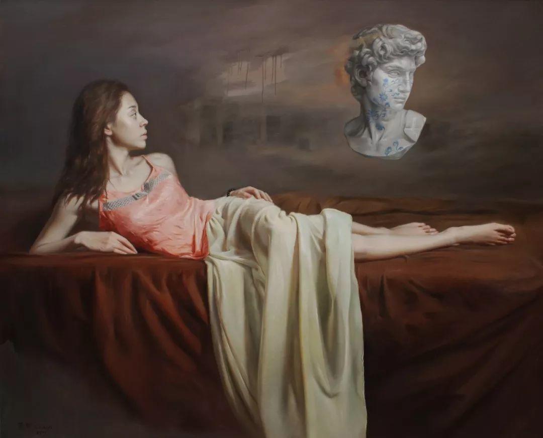 他画出绝美女子,每一幅都柔美个性,优雅自信插图9