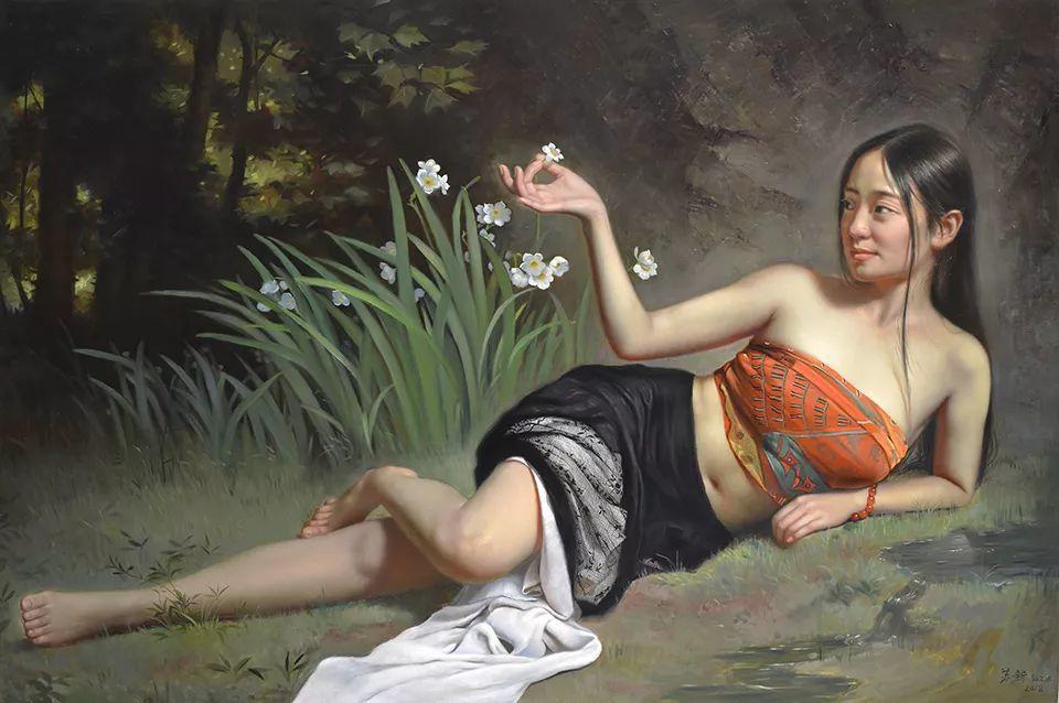 他画出绝美女子,每一幅都柔美个性,优雅自信插图11