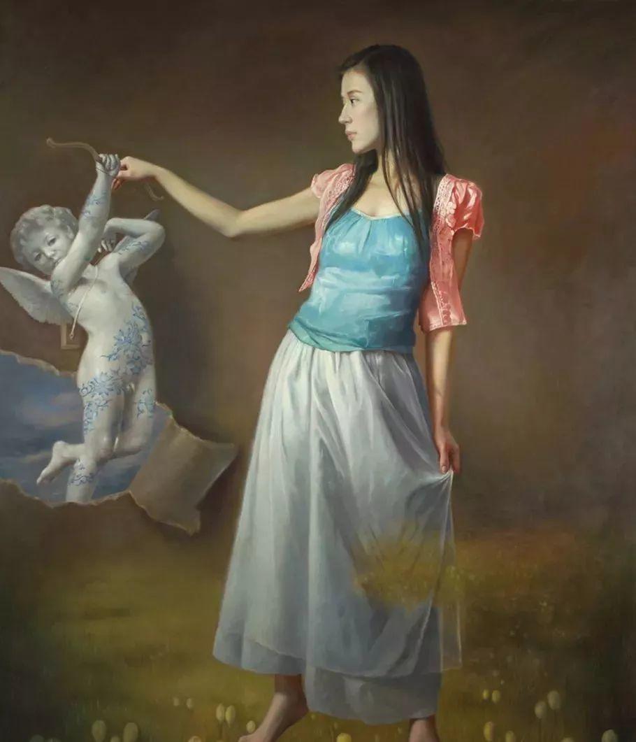 他画出绝美女子,每一幅都柔美个性,优雅自信插图15