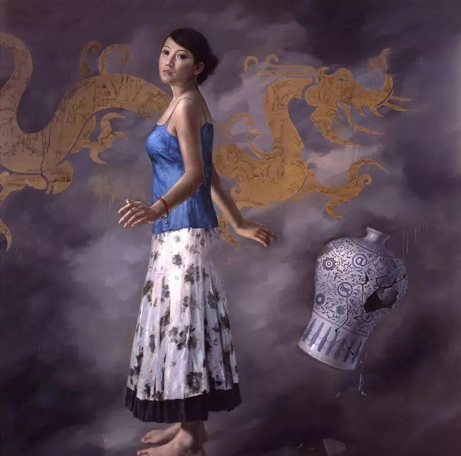 他画出绝美女子,每一幅都柔美个性,优雅自信插图16