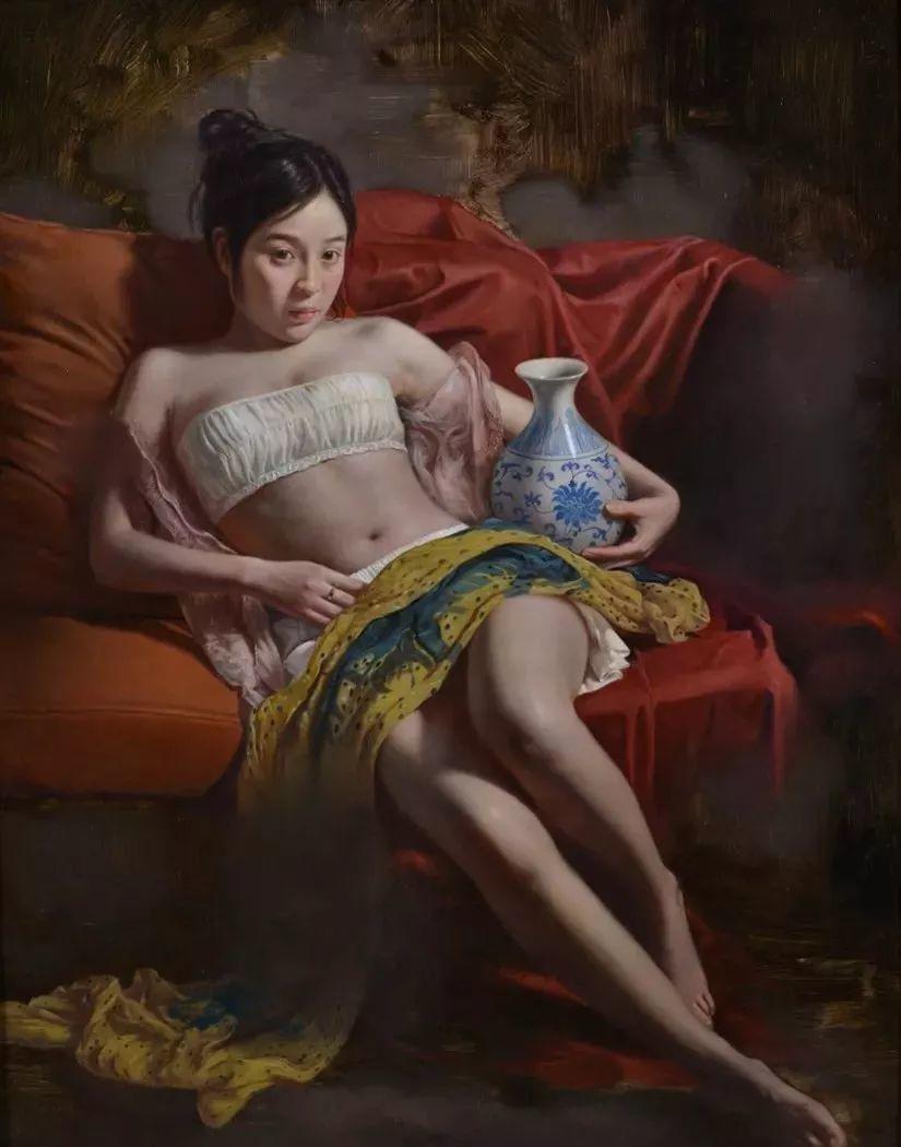 他画出绝美女子,每一幅都柔美个性,优雅自信插图17