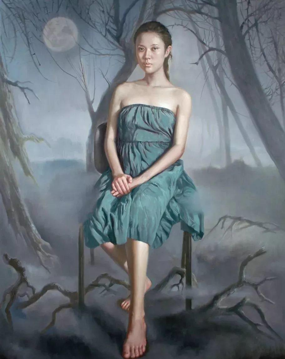 他画出绝美女子,每一幅都柔美个性,优雅自信插图19