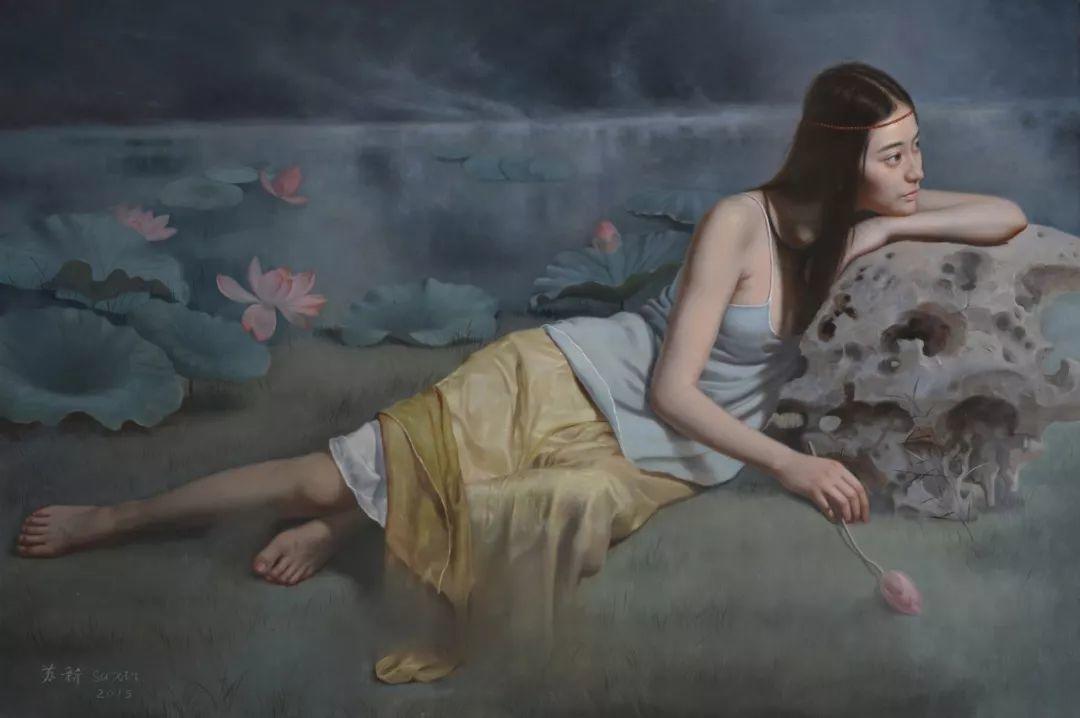 他画出绝美女子,每一幅都柔美个性,优雅自信插图20