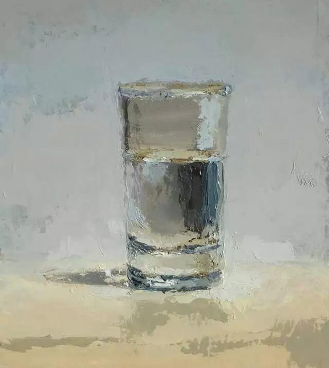 玻璃的质感,赞!美国画家Brian Blackham插图1
