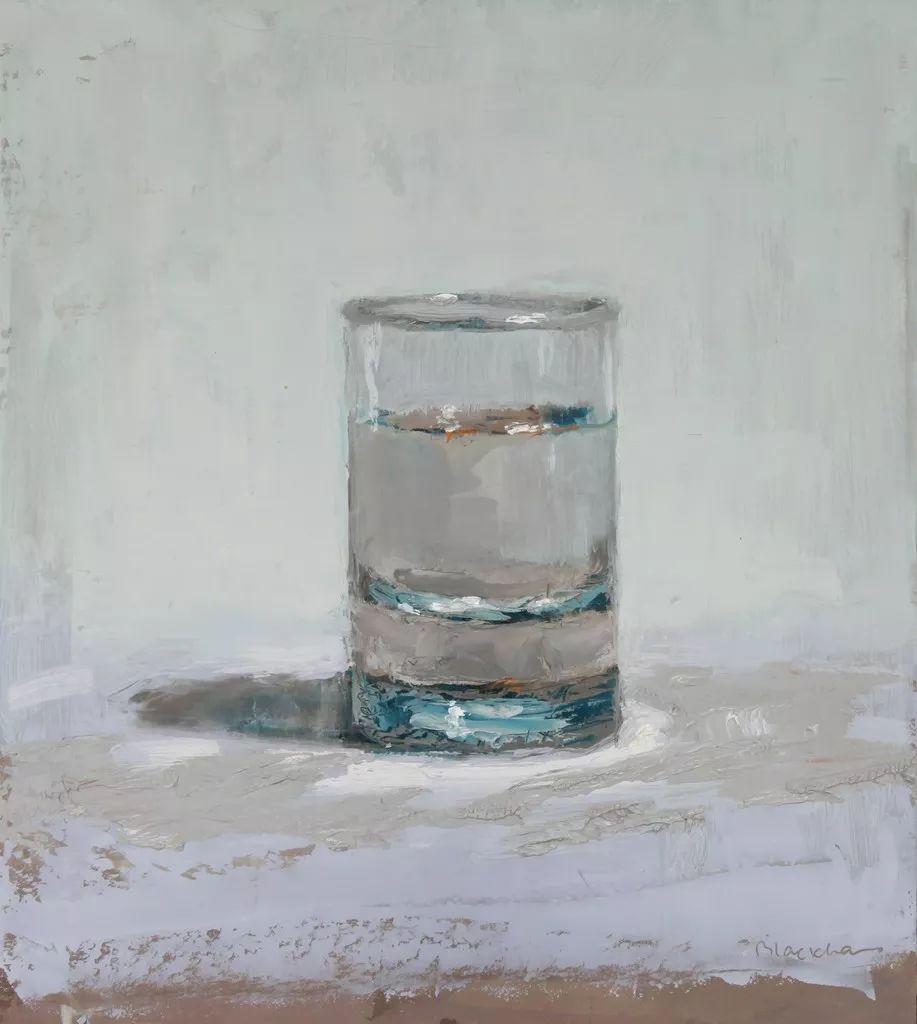 玻璃的质感,赞!美国画家Brian Blackham插图3
