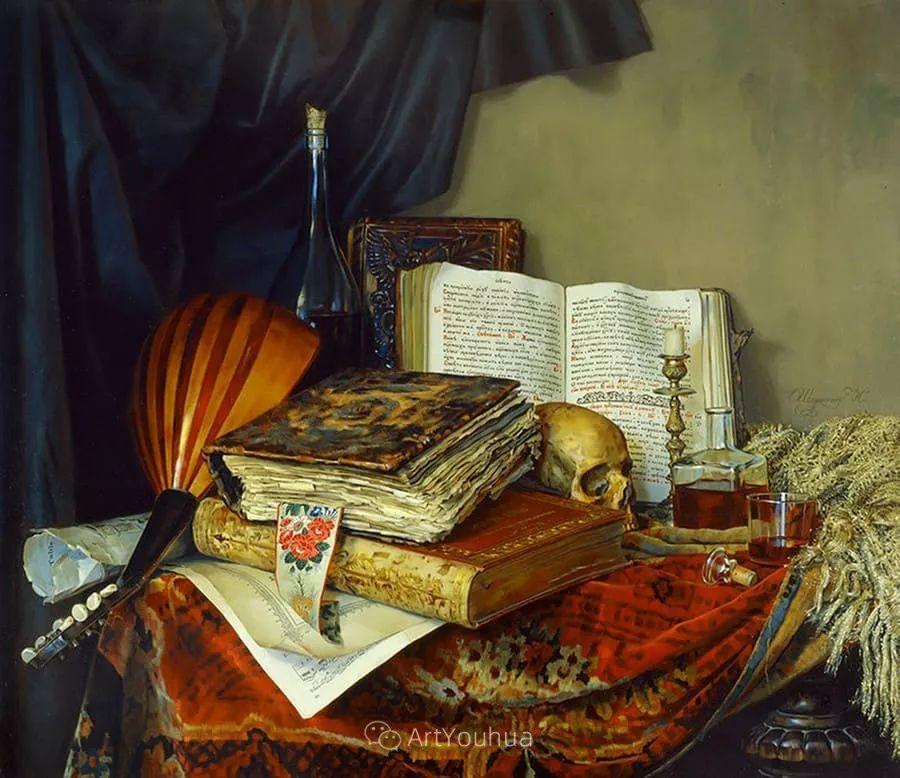 失传的多层次绘画,俄罗斯艺术家Nikolay Shurygin插图5