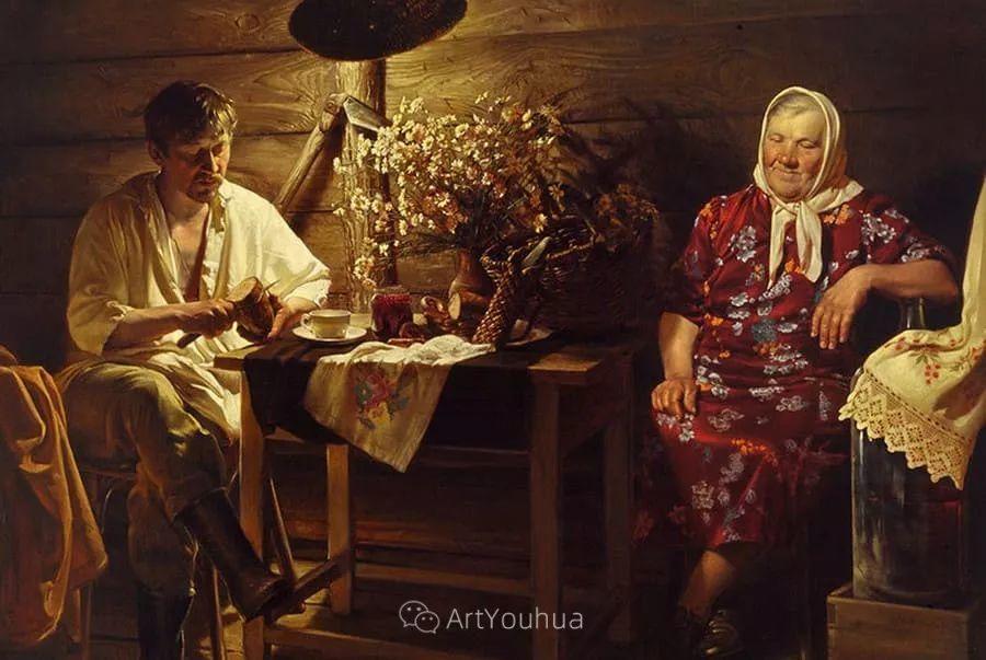 失传的多层次绘画,俄罗斯艺术家Nikolay Shurygin插图33