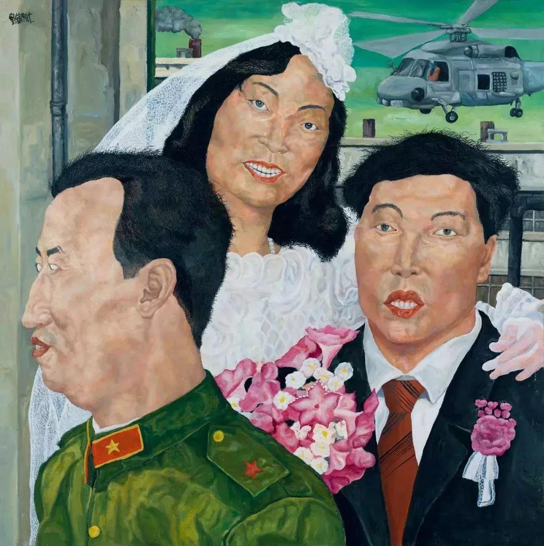 嘉德秋拍成交3.81亿元,冷军再破纪录,油画《小姜》以7015万元成交插图6