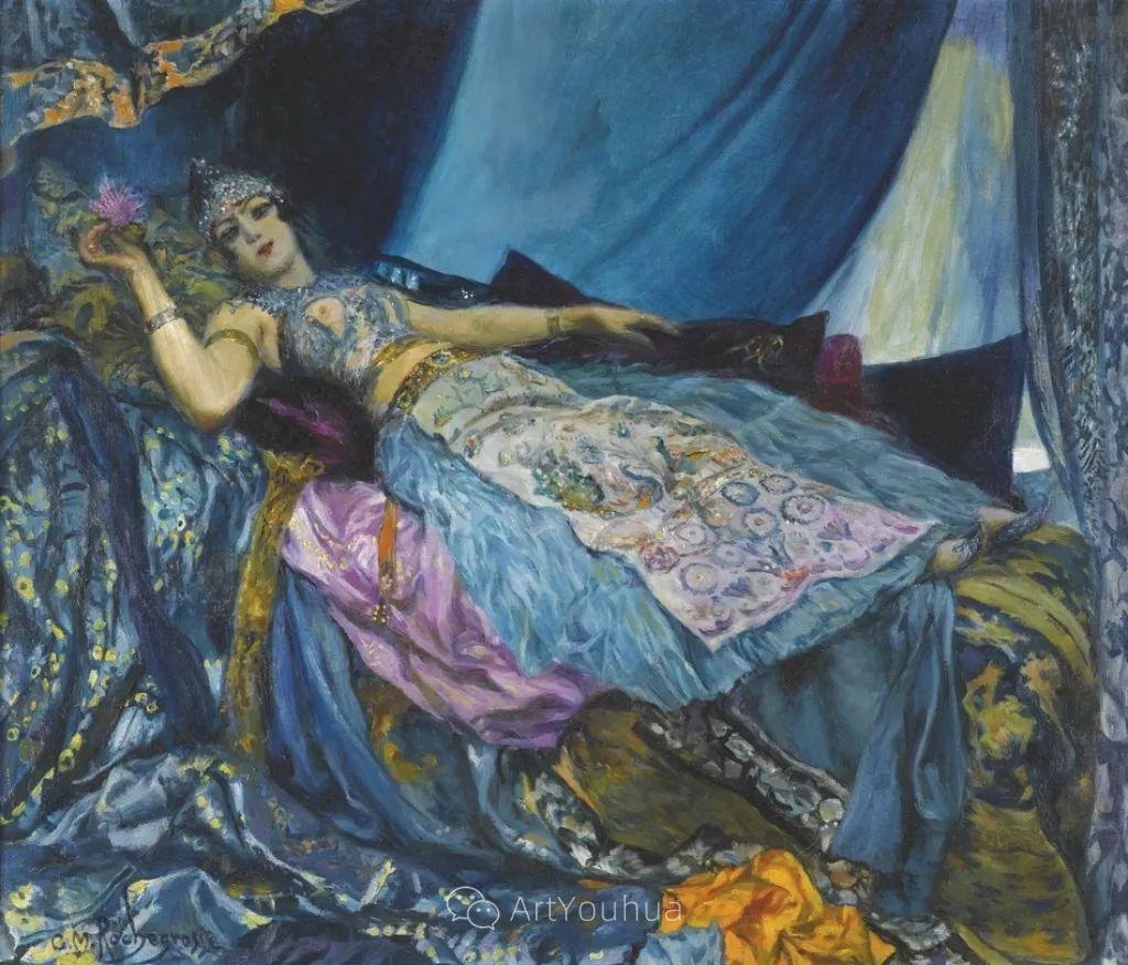 历史装饰画家,法国Georges Antoine Rochegrosse插图5
