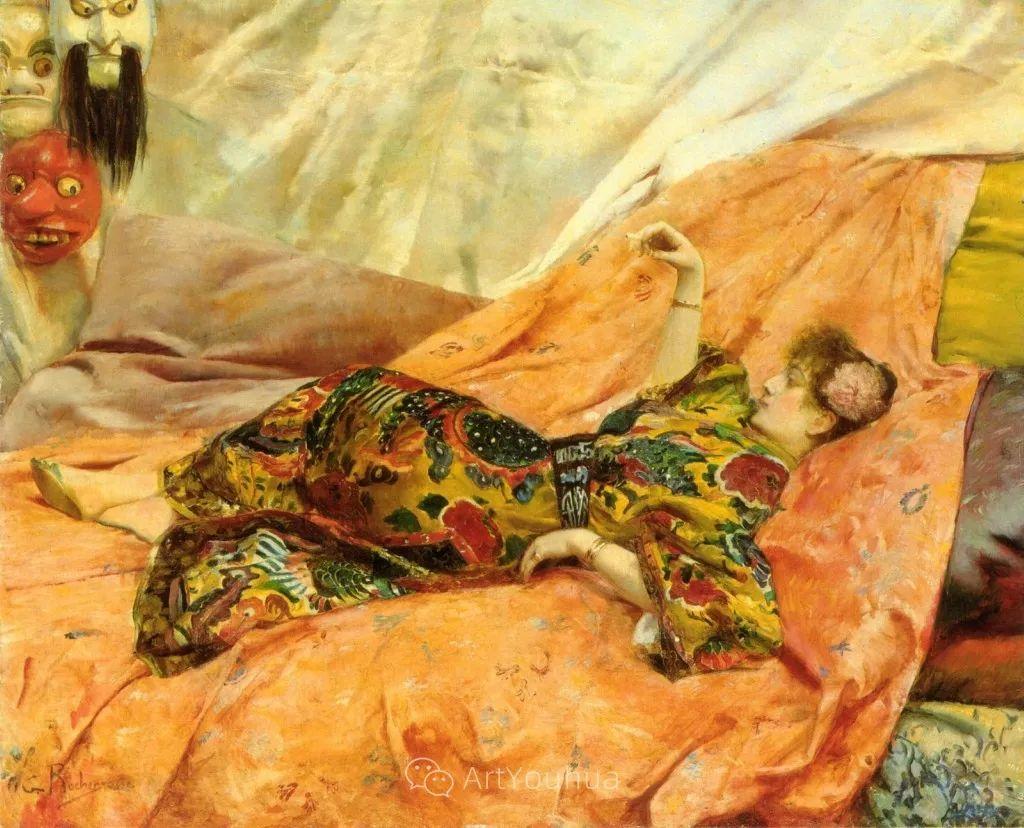 历史装饰画家,法国Georges Antoine Rochegrosse插图15