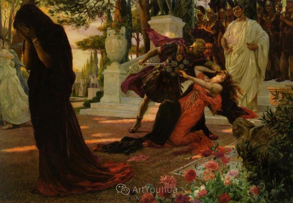 历史装饰画家,法国Georges Antoine Rochegrosse插图10