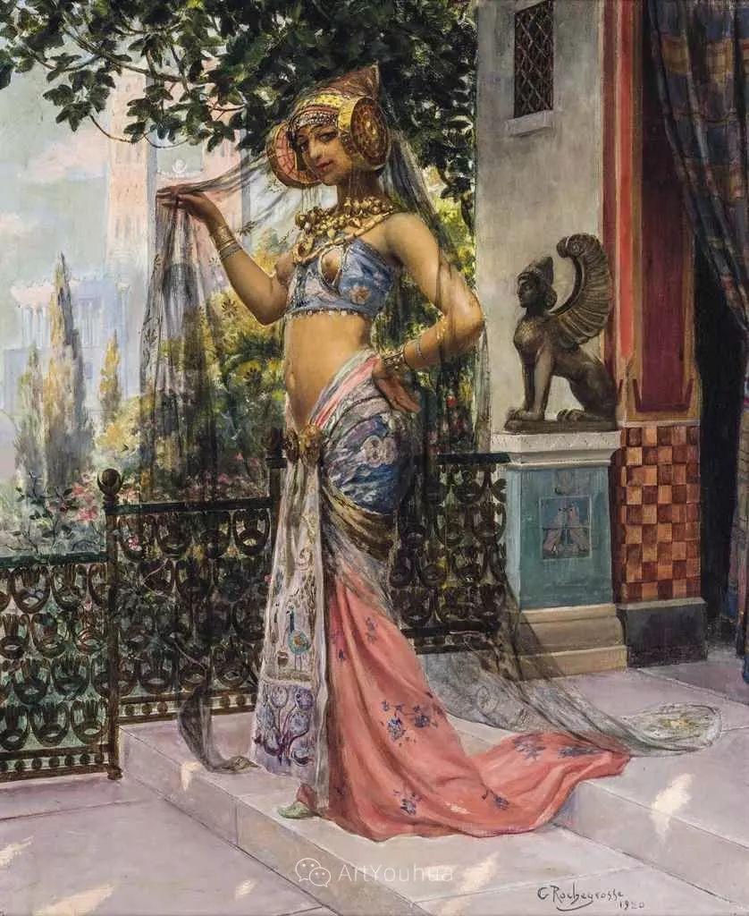 历史装饰画家,法国Georges Antoine Rochegrosse插图14